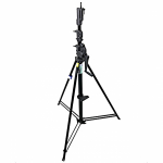 Стойка KUPO 483BT 3 SCT Wind-Up Stand w/Auto Self-Locking Device Black (181-380 см) с редукторной колонной